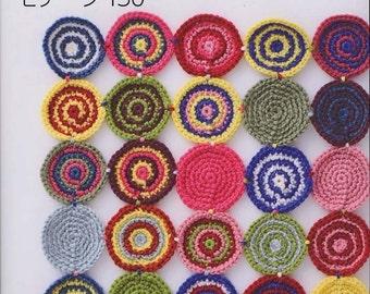 Kazekobo's Favorite Crochet Patterns 150, Japanese Crocheting Pattern Book, Easy Crochet Reference, Colorful Creative Design, B1188