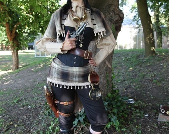 Airship Captains Steampunk costume from Steampunk Fashions Book in your choice of fabric