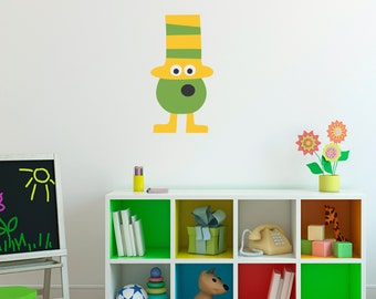 Monster Decal 4 - Silly Monster Wall Art - Children Wall Decals