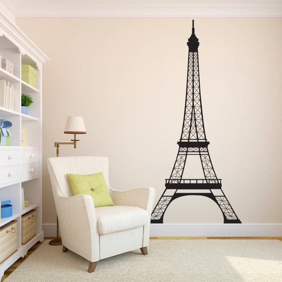 eiffel tower bedroom decor eiffel tower wall decal 7 high decal wall decor 15213