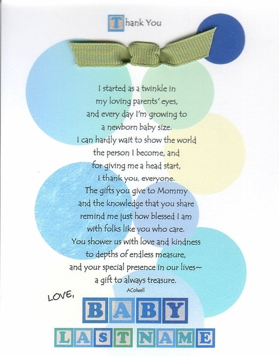 unborn baby poems for baby shower - photo #12