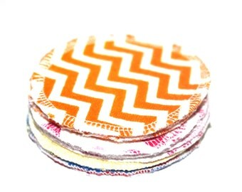 Reusable Makeup Remover Pads or Scrubbies Set of 15 Terry Cloth Backings