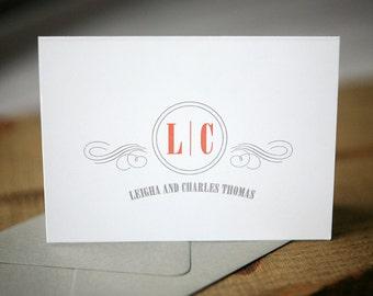 Wedding Thank You Notes - Hazelhurst Personal Stationery
