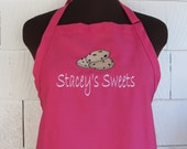 Personalized Cookie Apron - Custom Apron with Cookies and Personalization