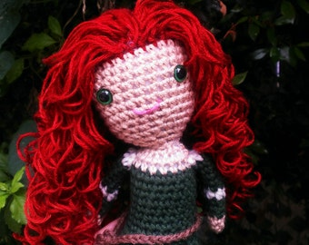 Merida inspired Brave doll FREE SHIPPING
