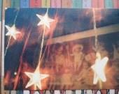 Original photograph postcard - stars at night