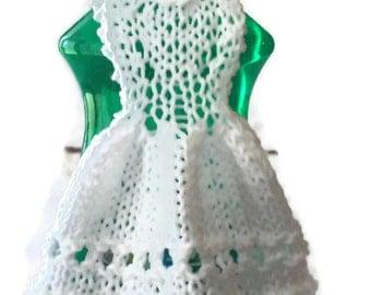 Dishcloth Dress Cotton Knit
