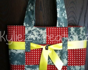 "Military camo ""Patchwork Style"" purse (Made to order)"