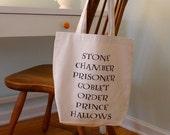 Harry Potter tote bag, Harry Potter Books, Harry potter, hogwarts