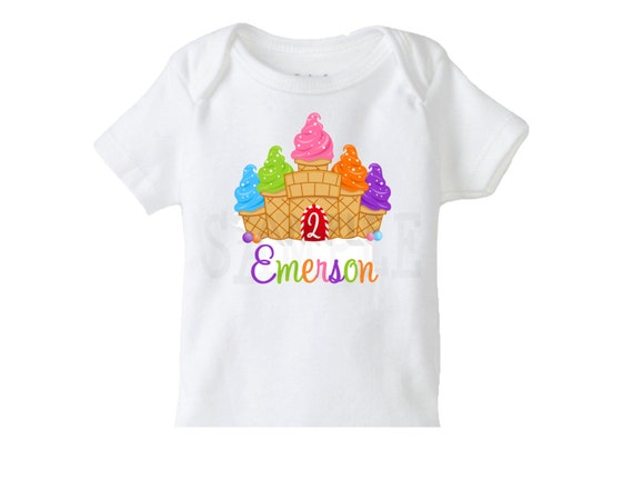 Candy Land Sweet Treats Birthday TShirt or Bodysuit