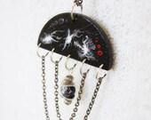 Necklace - Wooden Pendant - OOAK - Infinity