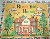 1984 Linen Calendar Towel - Bless This House