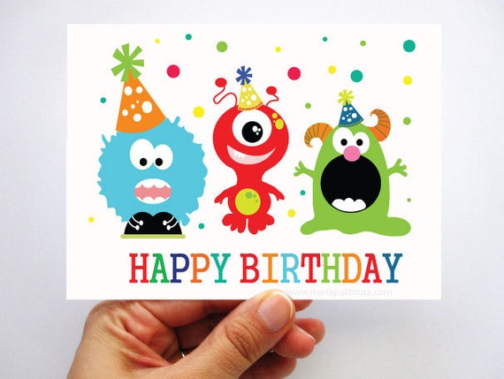 Let's Have A Little Monster Birthday Party!!! a Banner, a centerpiece, coloring books and more !! By MariaPalito  https://www.facebook.com/MariaPalitoDesign