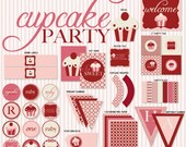 So Sweet Cupcake PRINTABLE Party by Love The Day