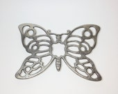 Butterfly Trivet Made In Italy Leonard Silverplate Silver Decorative Trivet 1