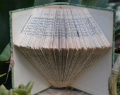 The Crystal - Yankee Ships - Folded Book Art - Recycled, Repurposed, Reclaimed