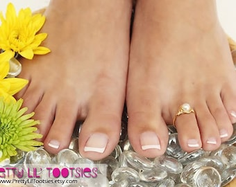 Pearl Toe Ring - Choose Your Favorite Color