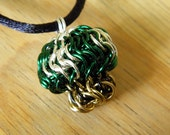 Chainmaille 1-Up Mushroom