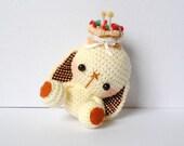 Crocheted Amigurumi Bit Bit Birthday Doll - (Made to Order)