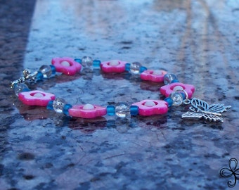Shell Butterfly Bracelet