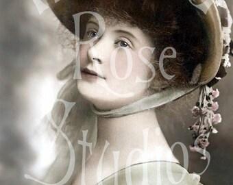 Giselle ll-Victorian/Edwardian Woman-Digital Image Download