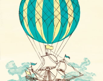 Airship 1 - A4 Limited Edition Print