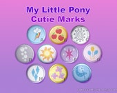My Little Pony Button or Magnet 1 inch