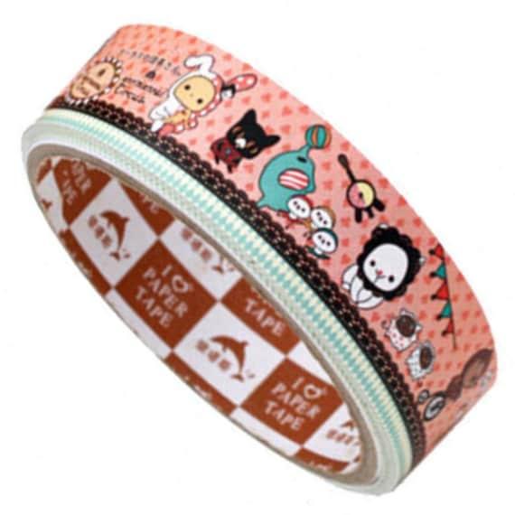 Deco masking Tape adhesive Stickers Sentimental Circus pr1 (24mm)