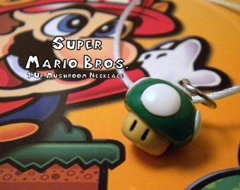 Mario 1-Up Mushroom Necklace - Nintendo