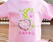 Valentines Day Custom Shirt For Girls - RESERVED FOR MARGARET
