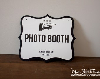 Custom Wedding Signs, Directional Signs, Bike Trails Sign, Bathroom Signs, Wedding This Way Signs