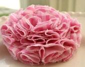 Maggie - Cotton fabric flower