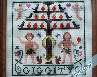 In the Garden of Eden Baby -- Instant Pattern