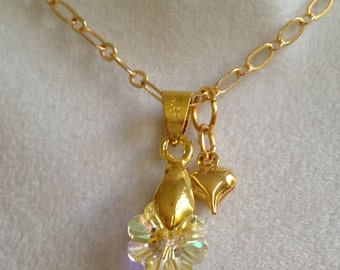 Bridal  Swarovski Crystal Necklace