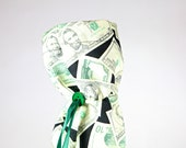 Wine bag, money themed wine gift bag, fabric wine bag, bottle wrap, fabric tote, bottle bag