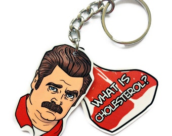 What is Cholesterol keychain