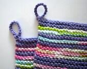 Amethyst Purple Dishcloths (set of 2)