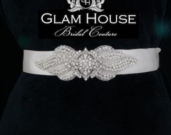 Bridal accessories,bridal belt,Wedding belt,Vintage wedding,Bridal sash,winter wedding,sash,wedding sash,dress belt,rhinestone belt,sash