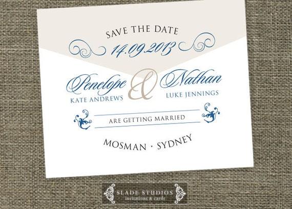 Do You Put Wedding Registry In Invitations: Formal Script Wedding Invitation Enclosure Card Set Printable
