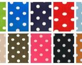 """24"""" Ottoman Pouf Floor Pillow Ikat Dots"""