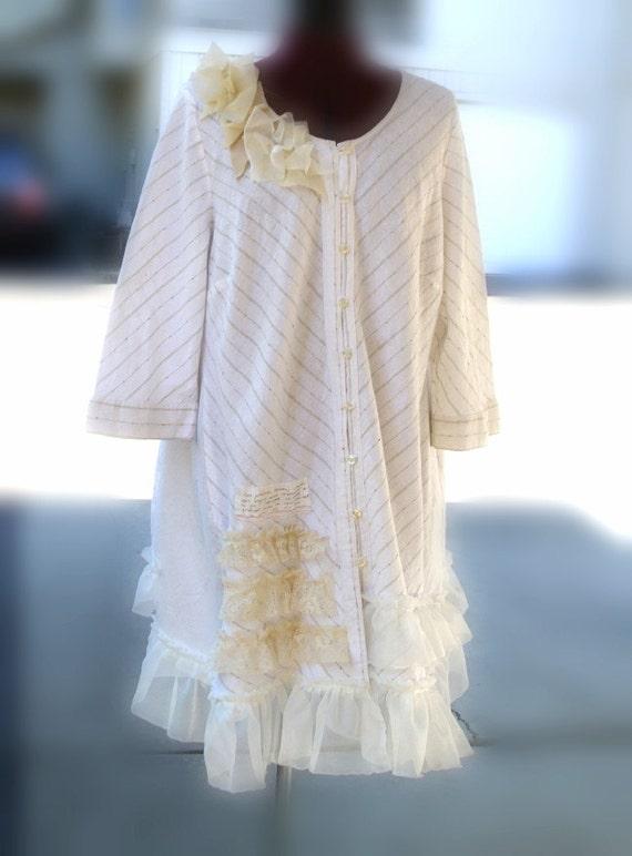 Sale ethical eco fashion bohemian wedding dress mori by for Bohemian style wedding dresses for sale