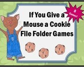 If You Give a Mouse a Cookie File Folder Game Teaching Resources, Teaching Materials, Teacher, Homeschool, Homeschooling, Special Education