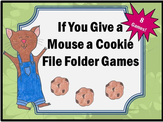Items similar to If You Give a Mouse a Cookie File Folder ...