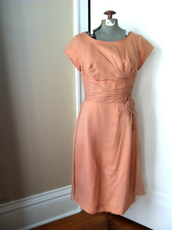 Vintage Rose 1950's Party Dress