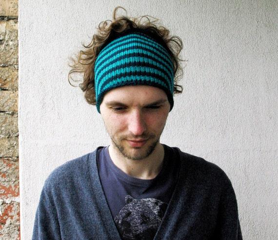 Mens Headband Guys knit hair wrap Mens dreadlock tube hat Dreadlock Hats For Men