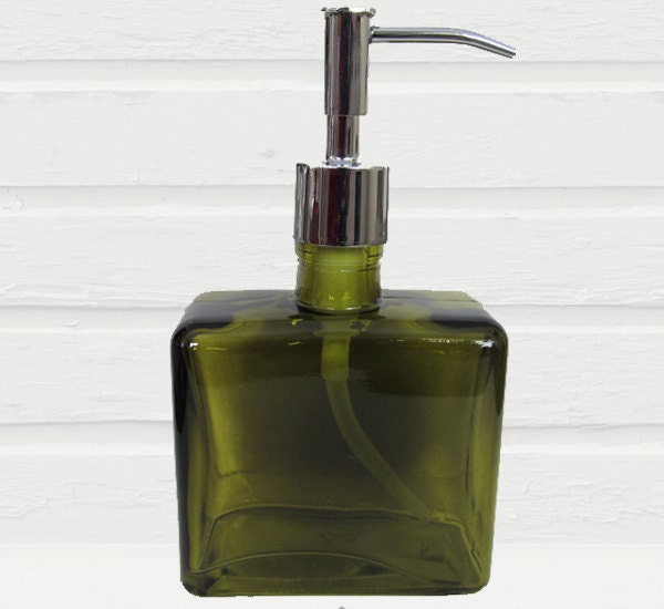 Green Soap Dispenser Eco Friendly Lotion Dispenser Bronze