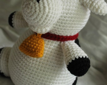 Charlie the Cow - Amigurumi Plush Crochet PATTERN ONLY (PDF)