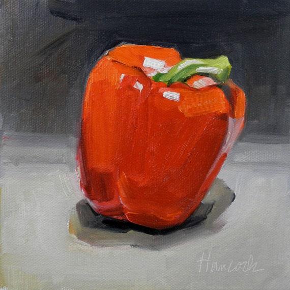 Apple-Like Red Pepper