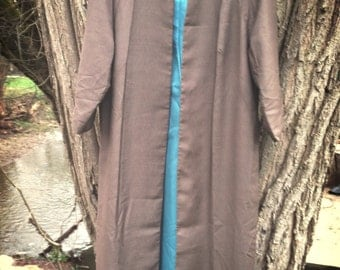 VTG Minx Modes Brown Dress Cover up Jacket 50s PRICECUT