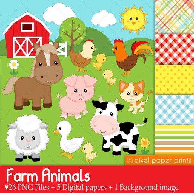 farm animals clipart images - photo #14